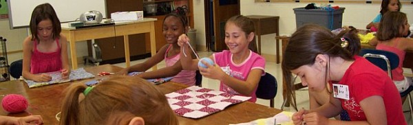 Quilting at American Girl Adventures